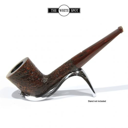 Alfred Dunhill White Spot   Cumberland Briar Pipe   4105F (9mm Filter)
