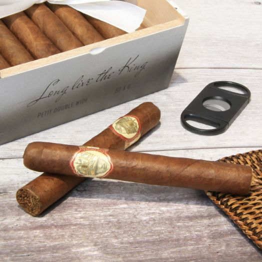 Single | Caldwell Cigars | Long Live The King | Double Wide Churchill Cigar