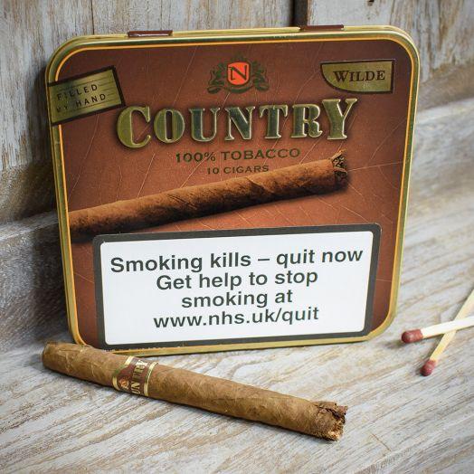 Neos   Country Wilde Cigarros   Tin of 10
