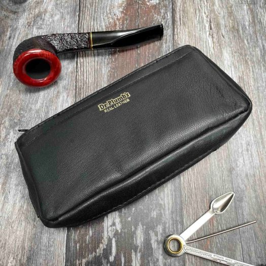 Dr. Plumb | One Pipe Zipped Combination Tobacco Pouch | 25500