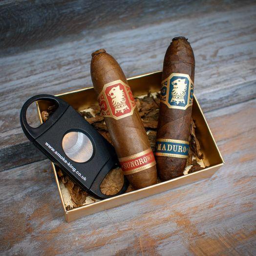 Pigs Might Fly - New World Handmade   Cigar Sampler Box