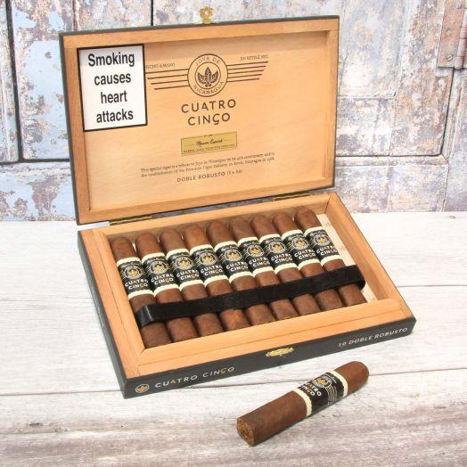 Joya de Nicaragua   Cuatro Cinco Reserva Double Robusto   Box of 10 Cigars