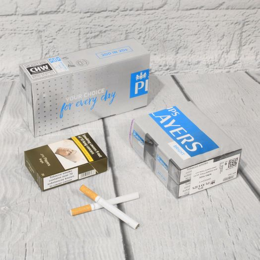 JPS Players | King Size Bright | 20 Cigarettes