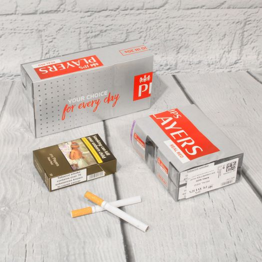 JPS Players | King Size Real Red  | 20 Cigarettes