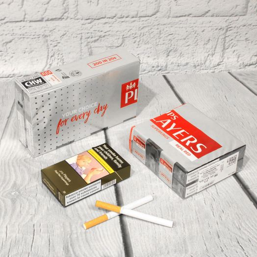 JPS Players | Superkings Real Red  | 20 Cigarettes