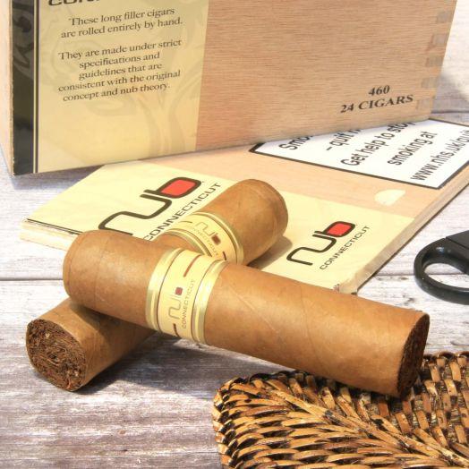 Single   Nub   Connecticut 460 Cigar