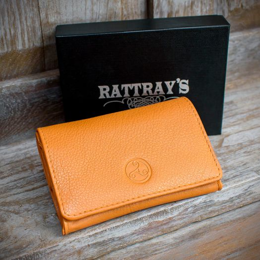 Rattray's | Barley Leather Pipe Tobacco Pouch | Small Box  (Stand -Up)